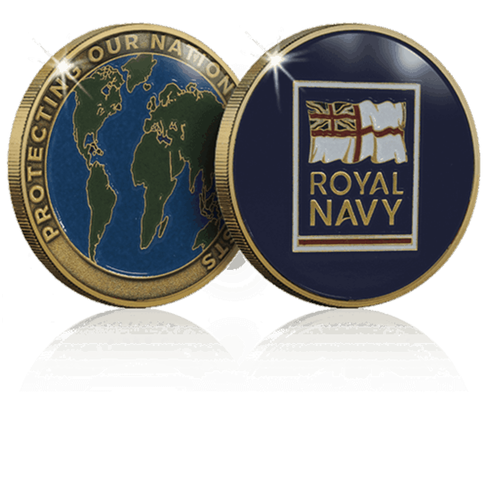 Royal Navy | World Challenge Coins | Custom Coins UK