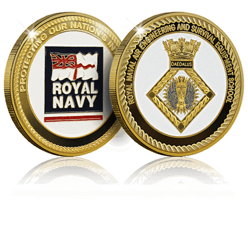 Royal Navy | World Challenge Coins | Custom Coins UK | Challenge